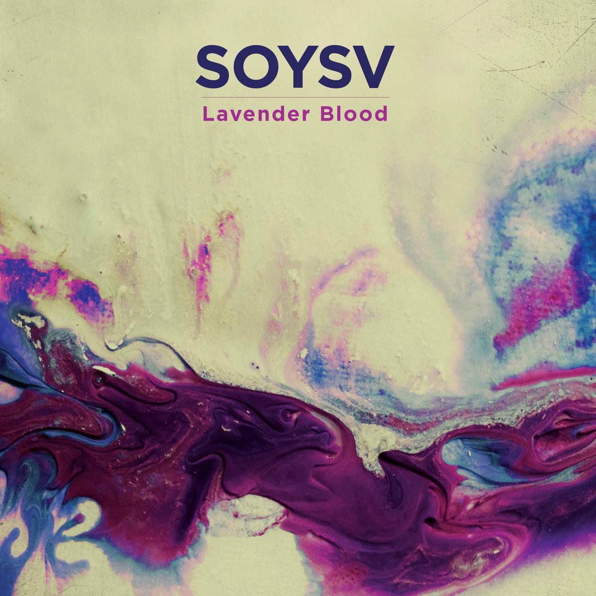 Lavender Blood Album Cover